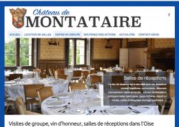 site internet Château de Montataire