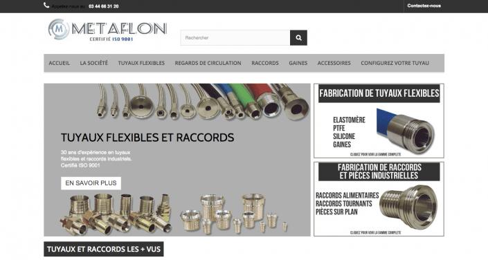 site internet Metaflon