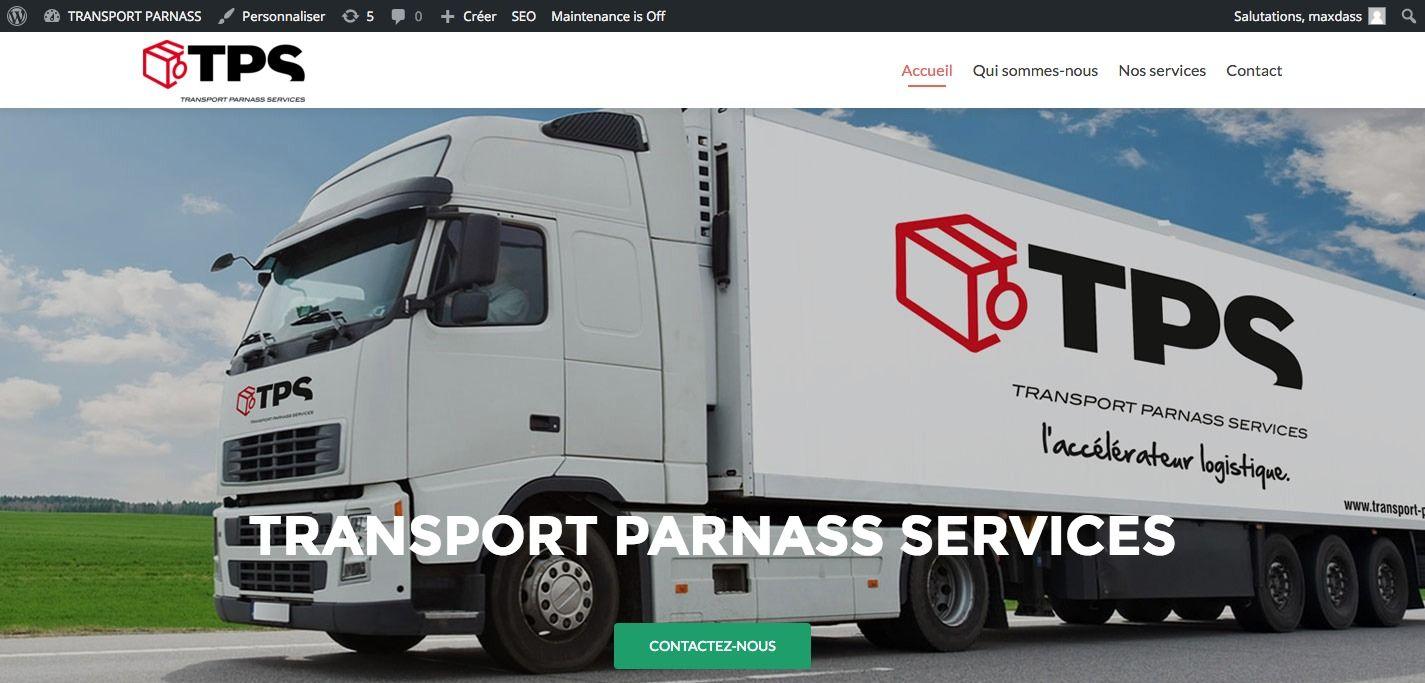 creation du site Parnass