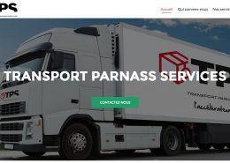 creation du site internet transport parnass