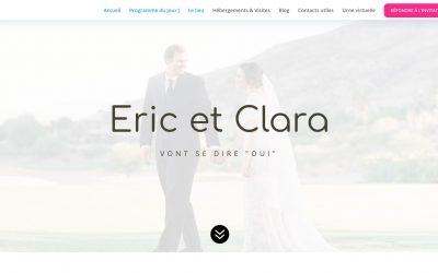 Créez votre site de mariage