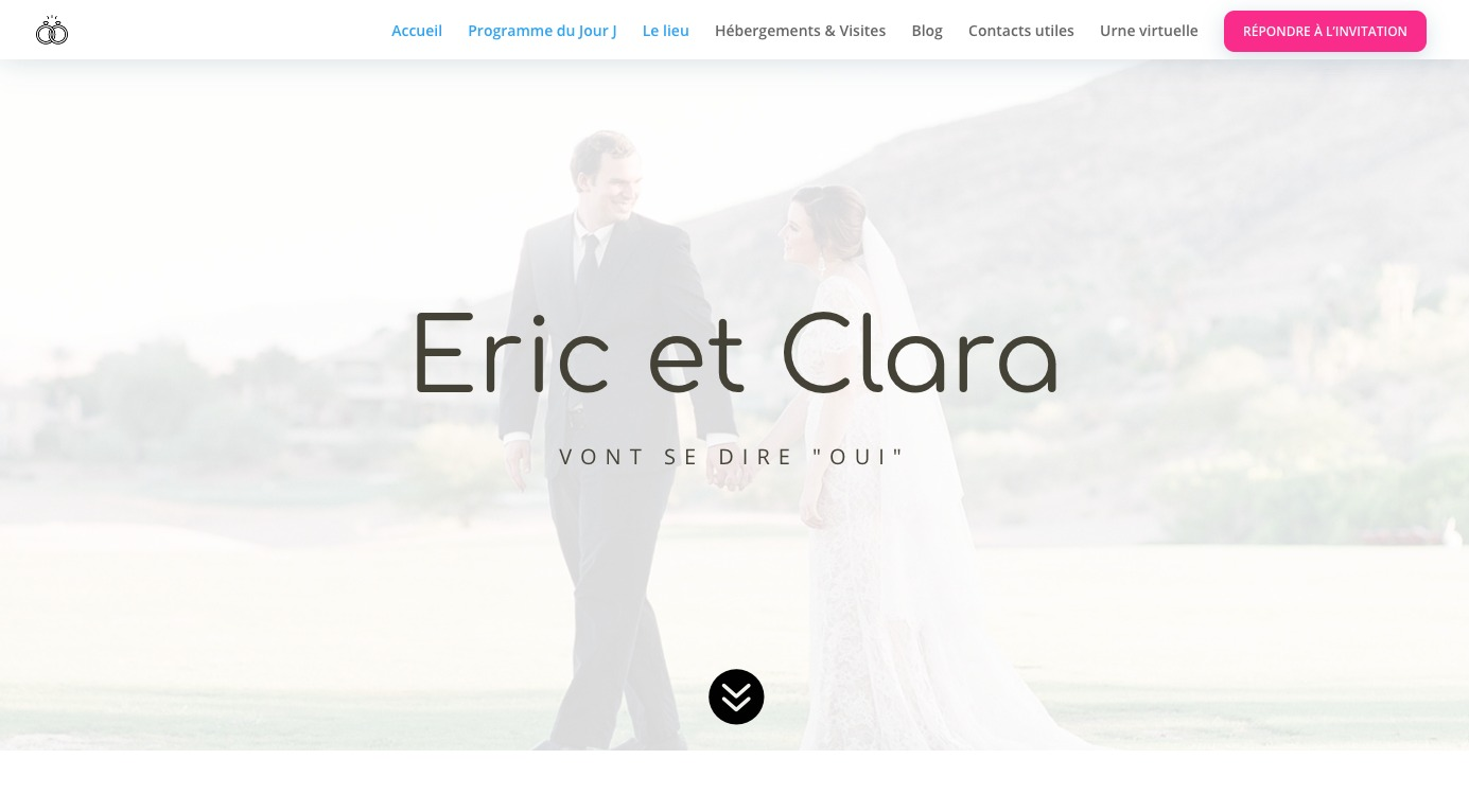 création site mariage
