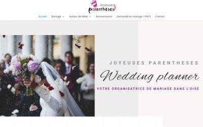 Dernière création de site : joyeusesparentheses.fr