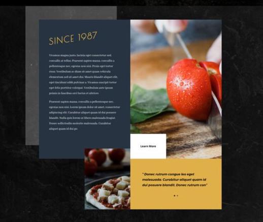 site web pour pizzeria restaurant